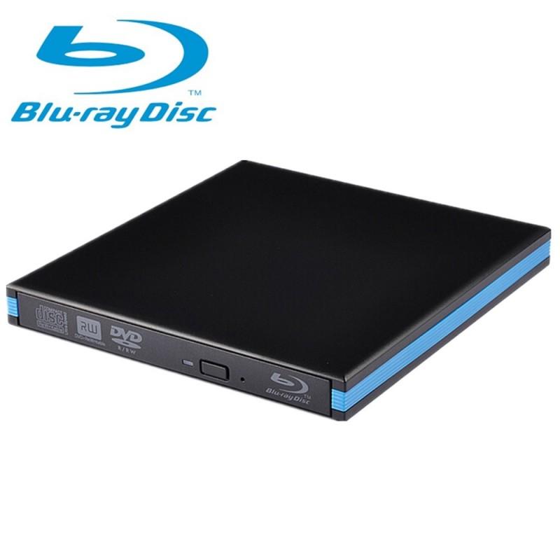 USB 3 0 External Portable Blu-Ray Combo Player DVD CD Burner