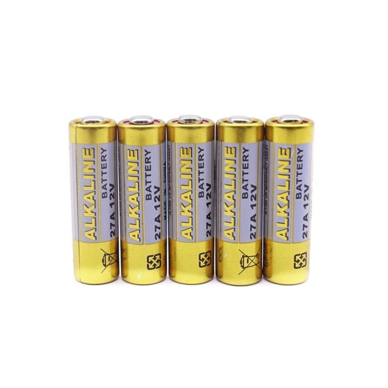 5x 12V Alkaline 27A Battery Batteryexpert