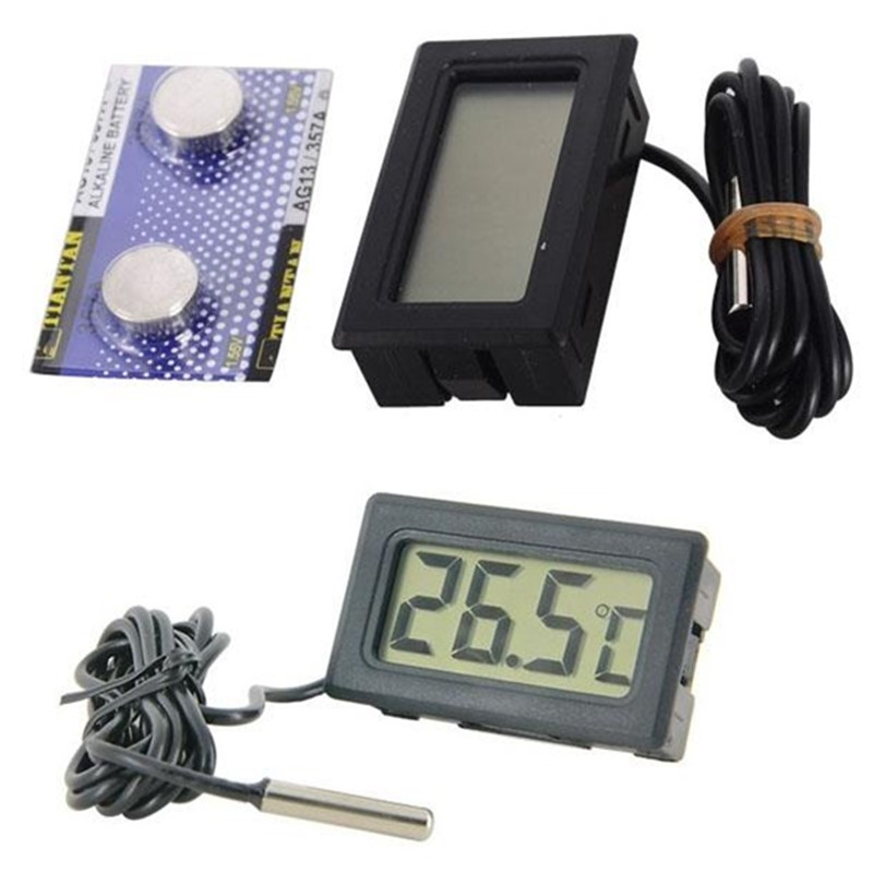 Digital Thermometer with LCD for Aquarium Fish Tank Marine ...