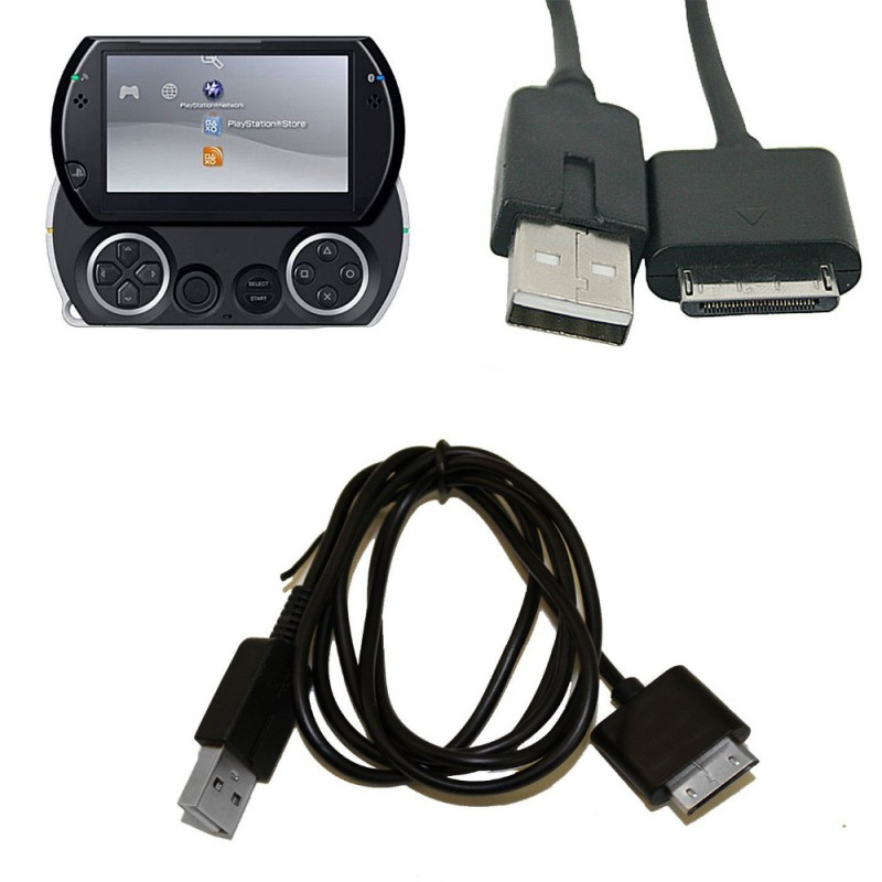 usb data sync power charging charger cable cord for sony psp go video game accessories. Black Bedroom Furniture Sets. Home Design Ideas