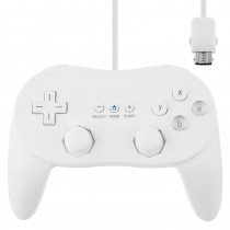 NEW White Classic Pro JoyPad GamePad Game Controller for Nintendo Wii Console