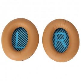 Khaki Replacement Ear Pads Cushions for Bose QuietComfort 2 QC2 15 QC15 25 QC25 SoundLink Around-Ear II 2 AE2 AE2i AE2w SoundTrue Around-Ear II Wireless Headphone