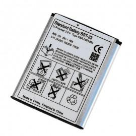 BST-33 Battery For Sony Ericsson K800i,W950i,W850i,Z530i,Z610
