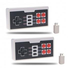 2 of 2.4G Wireless Controller Gamepad Joypad for Nintendo Mini NES Classic/SNES Mini Console