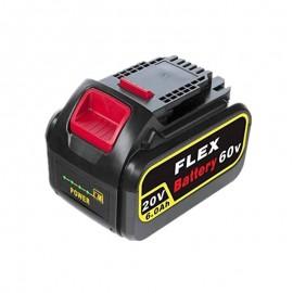 20V 60V 6.0Ah Replacement Battery For DeWalt DCB180 Cordless Power Tools