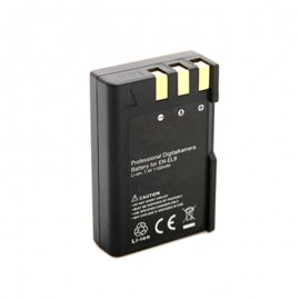 EN-EL9A Battery for Nikon D40 D40A D40C D40X D60 D60 DSLR