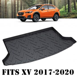 Heavy Duty Cargo Rubber Waterproof Trunk Mat Boot Liner Luggage Tray Fits Subaru XV SUV 2017 2018 2019 2020