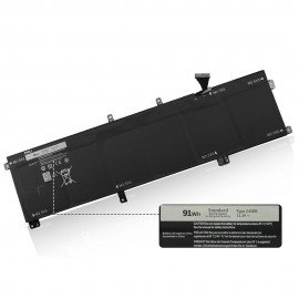 91Wh Dell Precision 3800 Laptop Replacement Battery