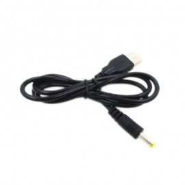 USB A to DC 5V 4.0mm x 1.7mm Power Adapter Charger Cable Lead Cord for Sony PSP