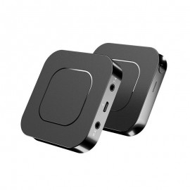 2-in-1 Bluetooth 5.0 Wireless Audio Adapter Transmitter Receiver with 3.5mm for TV PC Stereo System Headphones Speaker