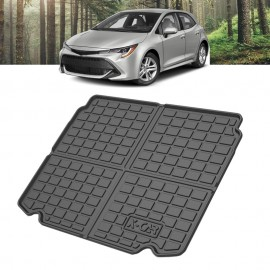 Boot Liner for Toyota Corolla Hatchback 2018-2021 Heavy Duty Cargo Trunk Cover Mat Luggage Tray