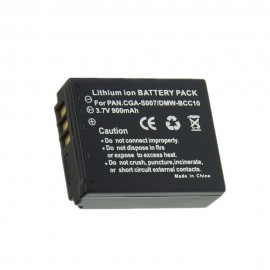 Panasonic Lumix DMC-TZ1 Camera Camcorder Replacement Battery