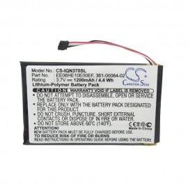 Garmin Nuvi 3700 GPS Replacement Battery