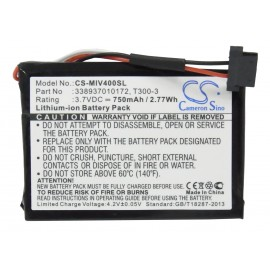 Magellan Roadmate 3055t-LM GPS Navigation Replacement Battery