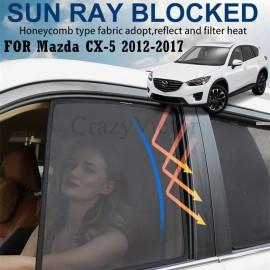 Mazda CX-5 CX5 2012-2017 Magnetic Rear Side Car Window Sun Blind Sun Shade Mesh