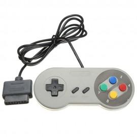2x 16 Bit Super Nintendo SNES Console Control Pad Gamepad Controller