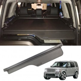 Retractable Car Trunk Shade Rear Cargo Security Shield Luggage Cover For Land Rover Discovery 3 4 2004-2016