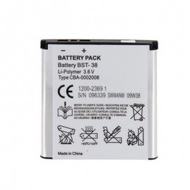 BST-38 Battery For Sony Ericsson xperia x10 mini pro,K850i,W580i