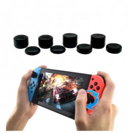 8 Pieces Silicone Thumb Stick Grip Joystick Cap Cover For Nintendo Switch Joy-Con