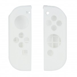 Nintendo Switch Joy-Con Controller Silicone Cover Skins with Thumb Stick Joypad Cap Clear