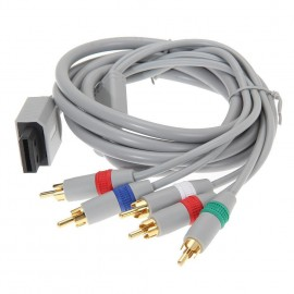Component HD TV AV 480p HDTV Video Cable for Nintendo Wii & Wii U Console