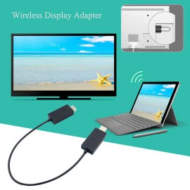 Wireless Display Adapter Receiver HDMI & USB Port for Microsoft Device