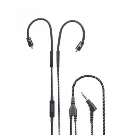 Replacement Audio Cable Mic For Shure SE215 SE315 SE425 SE535 SE846 UE900 Earphones Headphones