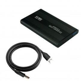 """USB 3.0 External Backup Hard Drive Slim Case Enclosure 2.5"""" Portable HDD Sata SSD"""