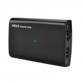 USB to HDMI Video Capture Card 4K 30P 1080P 60fps Game Video Record Live Streaming Recorder