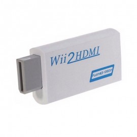 Wii/Wii U to HDMI Adapter 1080p Converter Adapter HD Audio Video Output