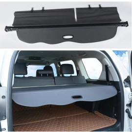 Retractable Car Trunk Shade Rear Cargo Security Shield Luggage Cover For Toyota Prado 150 Series 2009-2021