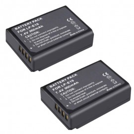 2 Rechargeable Battery for Canon EOS 1100D Camera