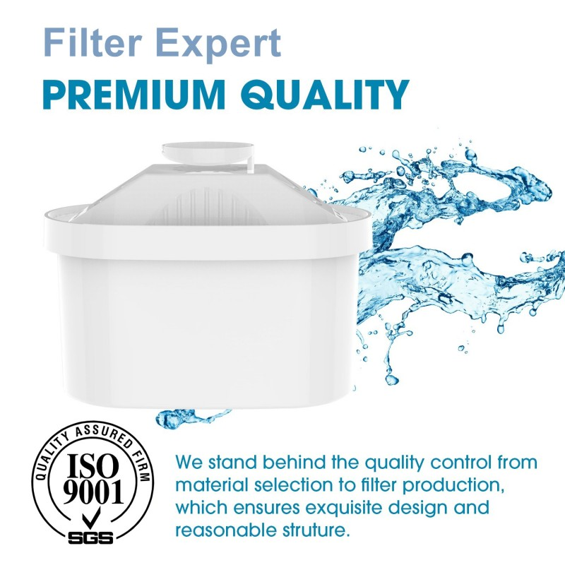 3x Replacement Water Filter Cartridge For Brita Maxtra