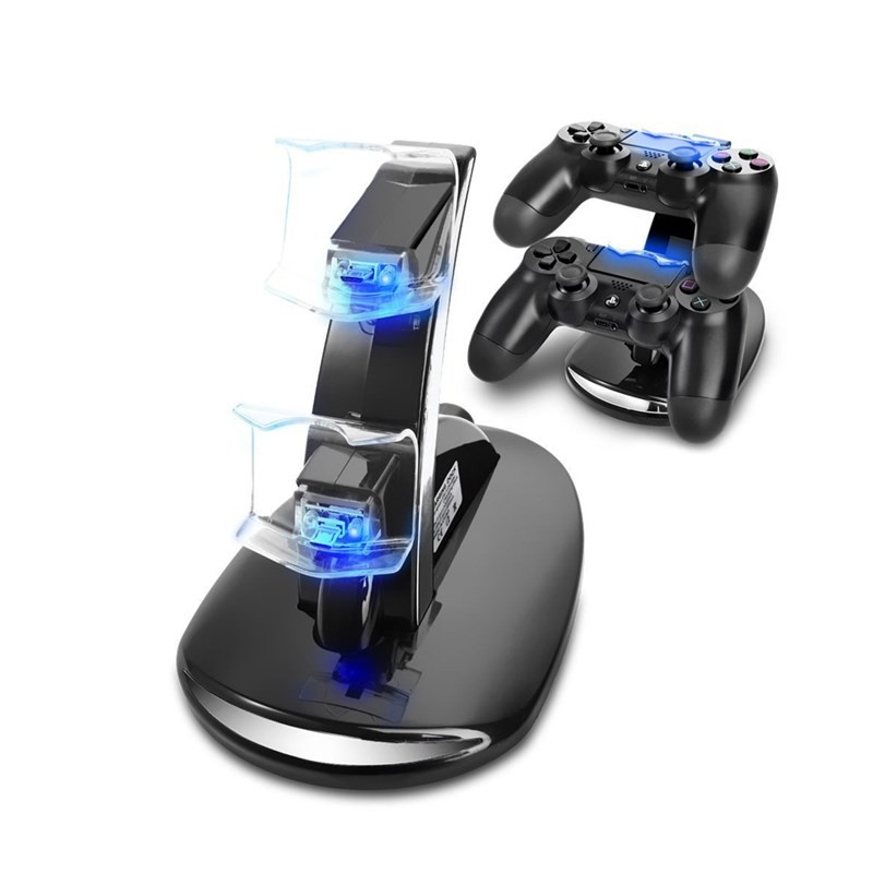 Playstation 4 Ps4 Dual Usb Controller Charger Dock Station