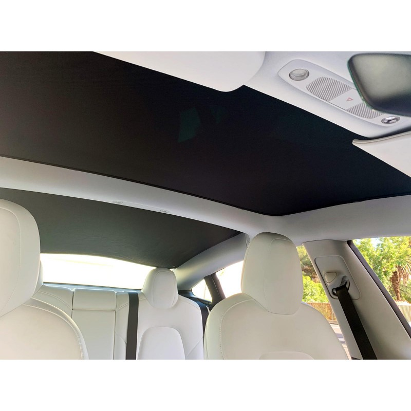 Tesla Model 3 Glass Roof Sunroof Mesh Top Window Sun Blind ...
