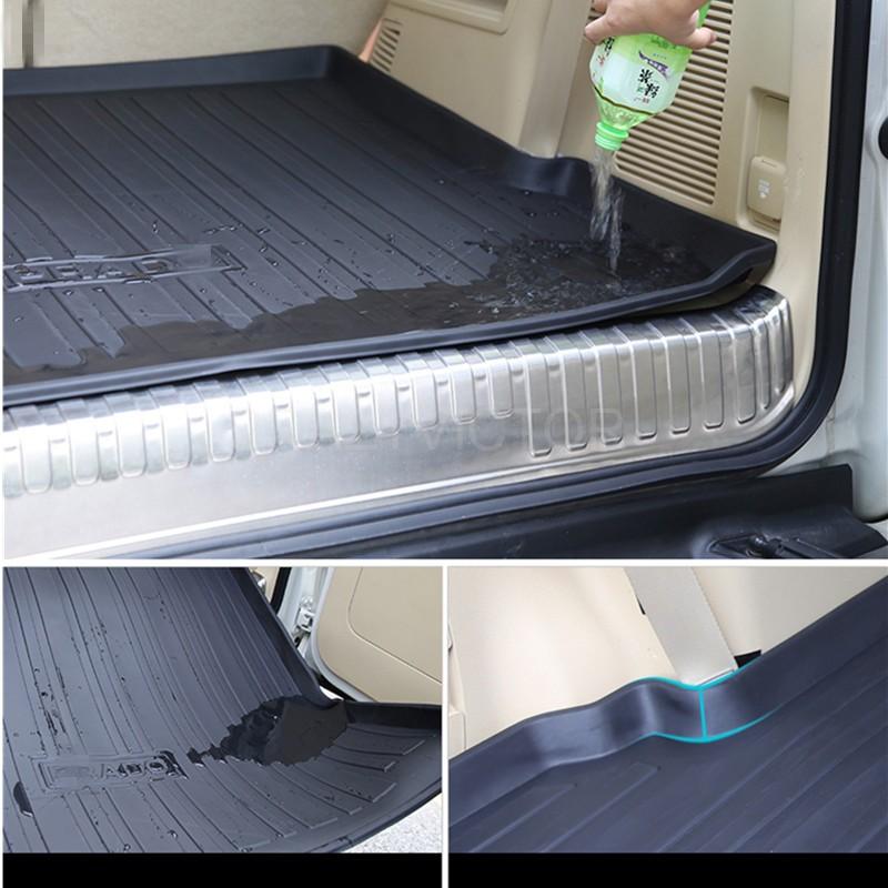 Heavy Duty Cargo Rubber Waterproof Mat Boot Liner for Jeep ...
